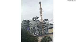 Partial building collapse at Hard Rock Hotel in New Orleans kills one
