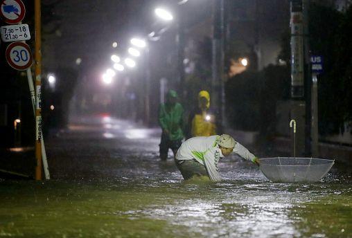 NO COMMENT | Derrubios e inundaciones en Japón por el tifón Hagibis
