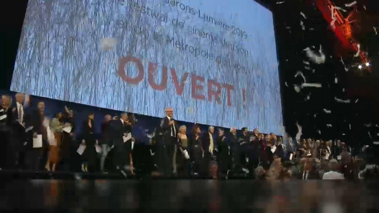 El Festival de cine Lumière inaugura su 10º edición con estrellas internacionales