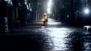 Japonya'yı vuran tayfunun bilançosu artıyor: En az 2 ölü, 90 yaralı