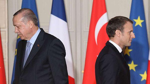 Almanya'dan sonra Fransa da Türkiye'ye silah satışını askıya aldı