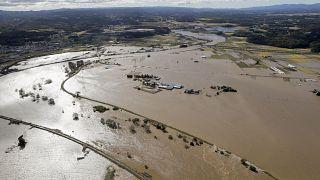Ιαπωνία: Στο έλεος του τυφώνα Χαγκίμπις