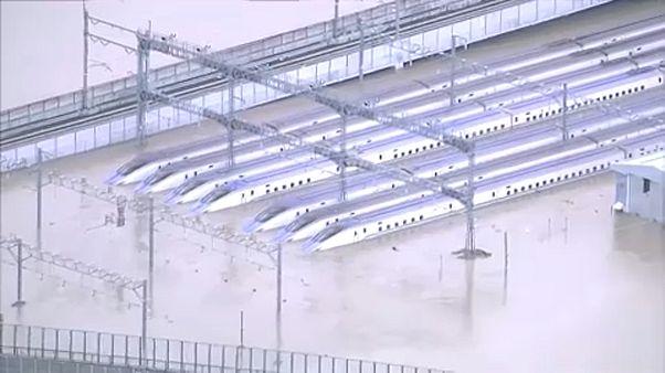 Hagibis, le typhon meurtrier déferle sur le Japon