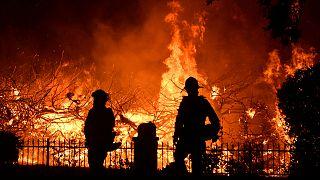 Saddleridge lángokban