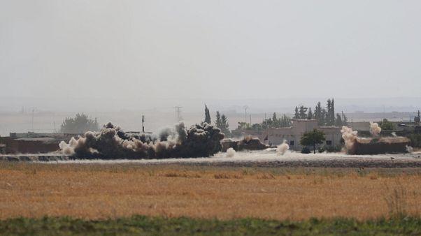 Barış Pınarı Harekatı'nda beşinci gün: Dakika dakika son gelişmeler - CANLI ANLATIM