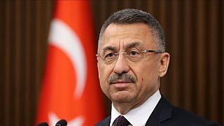KKTC Cumhurbaşkanı Akıncı'nın 'Barış Pınarı desek de akan su değil kandır' mesajına kınama