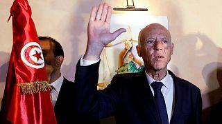 قیس سعید، نامزد پیروز در دور دوم انتخابات رباست جمهوری تونس