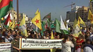 شاهد: الأكراد في لبنان ينددون بالعملية العسكرية التركية في شمال شرق سوريا