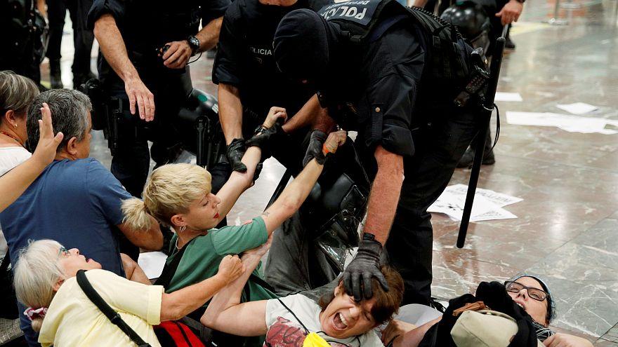Ülősztrájk Barcelonában az ítélethirdetés előtt