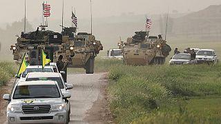 خروج نیروهای آمریکایی از شمال سوریه
