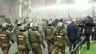 Disuelta una manifestación mapuche en Chile