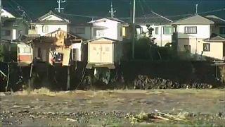 Mindestens 33 Tote bei Taifun in Japan