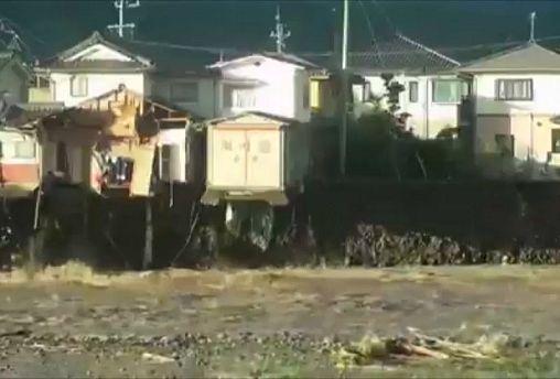 Áldozatai is vannak a tájfunnak Japánban