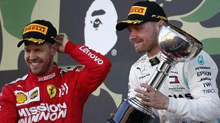 Боттас выиграл Гран-при Японии