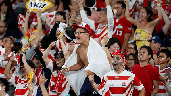 La selección de rugby de Japón hace historia al pasar a cuartos de final del Mundial