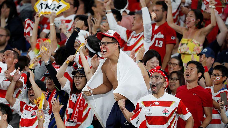 Japão nos 'quartos' do mundial de râguebi