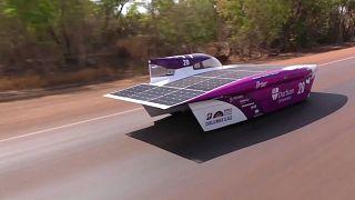 Autóverseny napenergiával