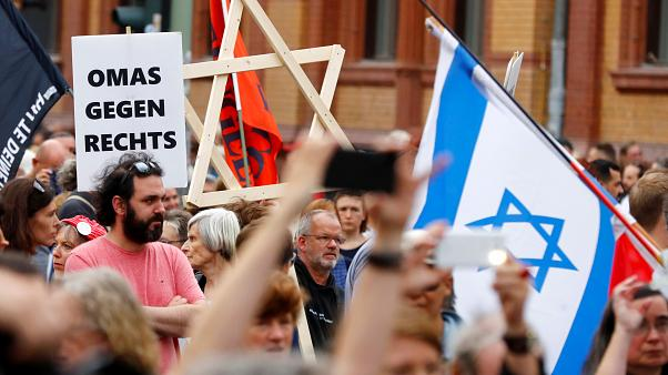 13.000 in Berlin: #Unteilbar gegen Rassismus und Antisemitismus