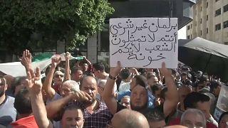 شاهد: الجزائريون في الشوارع للتنديد بقانون المحروقات