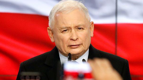 Kaczyński canta vitória na Polónia