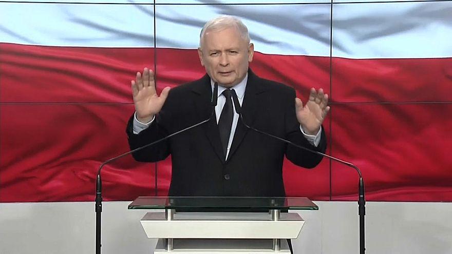 """""""Право и справедливость"""" побеждает на выборах"""