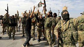 شورشیان تحت حمایت ترکیه در تلابیض