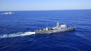 Στο πλαίσιο της Αμυντικής Συνεργασίας Κυπριακής Δημοκρατίας και  Γαλλίας, πραγματοποιήθηκε Ναυτική άσκηση στη θαλάσσια περιοχή Νότια της Κύπρου και εντός της ΑΟΖ