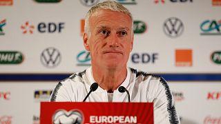Fransa Teknik Direktörü Didier Deschamps