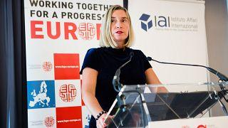 Federica Mogherini, cheffe de la diplomatie de l'UE