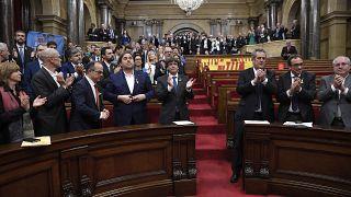 İspanya'da Yüksek Mahkeme 9 Katalan siyasetçiye 9 ila 13 yıl arasında değişen hapis cezası verdi