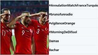 Fransa'dan Türk futbolculara asker selamı tepkisi: 'Türkiye maçı iptal edilsin'