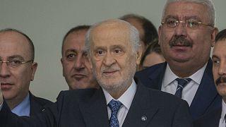 Video: Devlet Bahçeli 3 hafta aradan sonra siyasi arenaya geri döndü