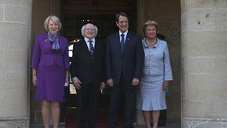 Στην Κύπρο για επίσημη επίσκεψη ο Πρόεδρος της Ιρλανδίας