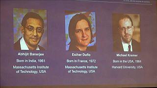 Nobel de Economía para tres expertos en desarrollo