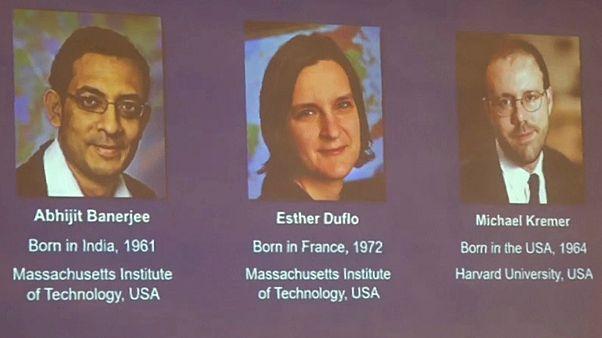 Nobel Ekonomi Ödülü Abhijit Banerjee, Esther Duflo ve Michael Kremer'e verildi