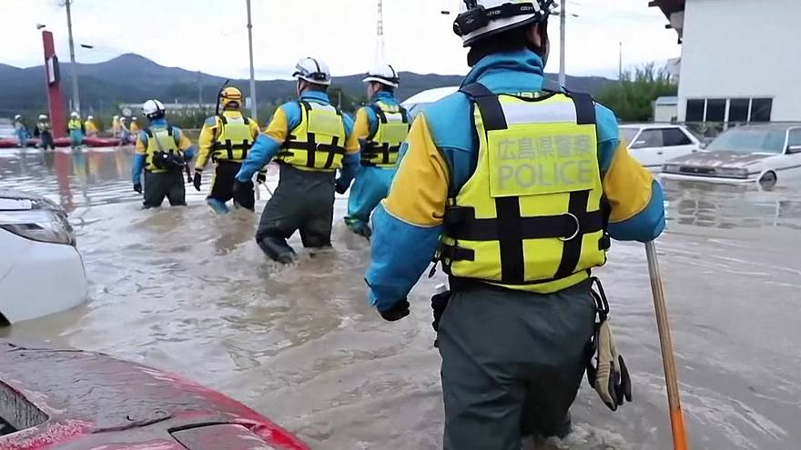 آمار ضد و نقیض از تلفات طوفان ژاپن؛ خطای امدادگران جان یک زن را گرفت