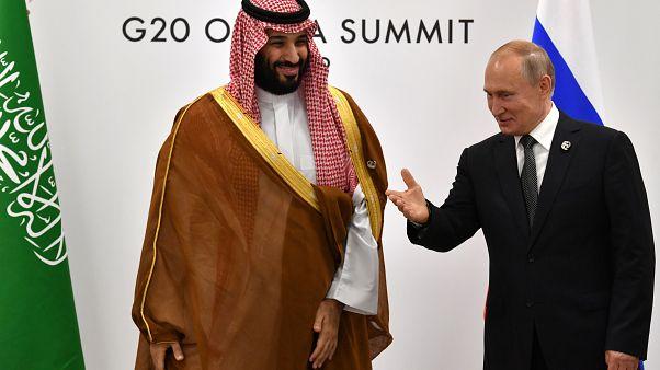 بوتين في السعودية لبحث ملف النفط والأزمة مع إيران