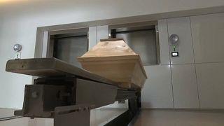 O primeiro crematório da Grécia
