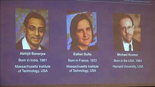 Эстер Дюфло, Абхиджит Банерджи и Майкл Кремер - лауреаты премии памяти Альфреда Нобеля
