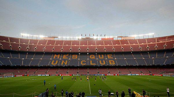 Le Camp Nou, le stade du Barça, le 1er octobre 2019