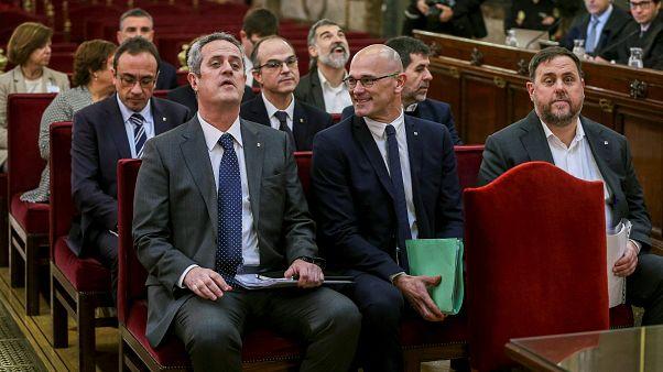 Πολυετείς ποινές κάθειρξης σε Καταλανούς αυτονομιστές