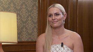 Entrevista con la esquiadora olímpica Lindsey Vonn, Premio Princesa de Asturias de los Deportes
