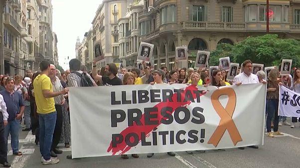 Katalonien: Verletzte bei Protesten nach Gerichtsurteilen