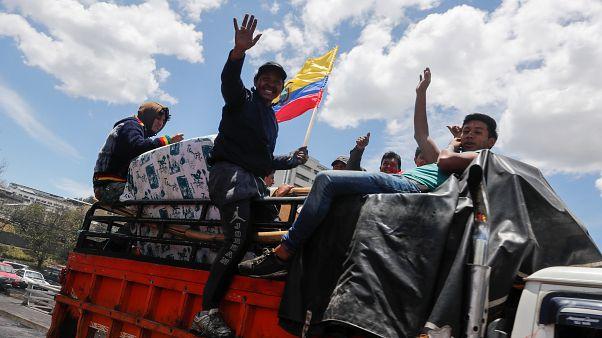 Ekvador'da hükümet geri adım attı, akaryakıt sübvansiyonları geri geliyor