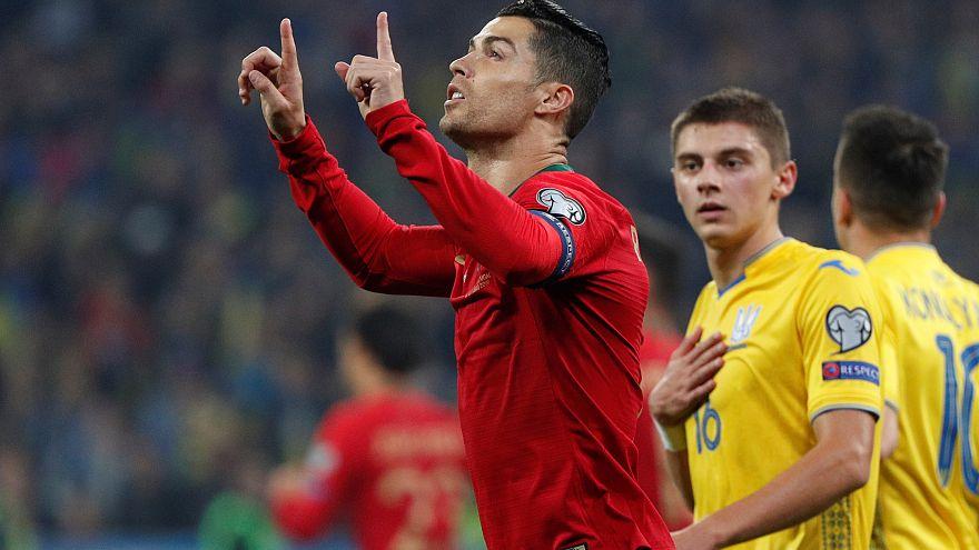 CR700: Portugal perde, Cristiano soma e segue