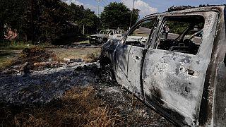 Matanza de 14 policías en el estado mexicano de Michoacán