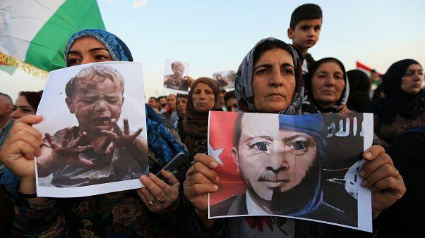 هفتمین روز حمله ترکیه؛ کردها میگویند ۲۷۵ هزار نفر آواره شدهاند
