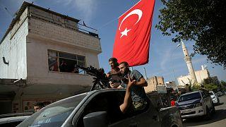 جنود موالون لأنقرة في شمال شرق سوريا