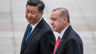 Çin Devlet Başkanı Şi Cinping / Cumhurbaşkanı Recep Tayyip Erdoğan