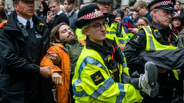London police ban Extinction Rebellion protests in British capital